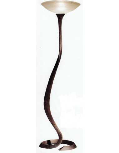Lampada da terra scultura Lipparini Tosca|E27|MADE IN ITALY|Ruggine antico|Coppolav.it: Prodotti fuori produzione