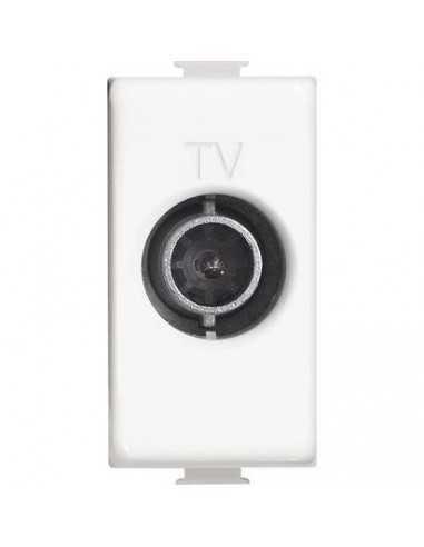 Presa TV derivata Bticino AM5202D|1 Modulo|Avorio|MADE IN FRANCE|Coppolav.it: Interruttori, placche, frutti e support