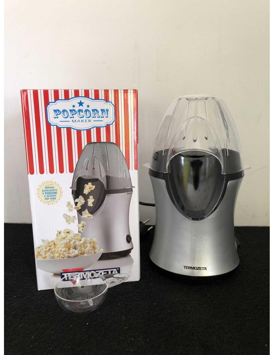 Macchina per popcorn 1200W Termozeta 74029, 65g di capacità, prepara ...