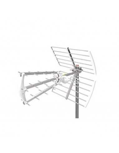 Antenna TV per esterno con filtro LTE, 29 elementi, polarizzazione sia verticale che orizzontale Coppolav.it:Materiale e cavo TV