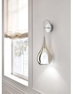 Lampada da parete Cangini&Tucci AP1301.1L in vetro di murano oro metallizzato|G9|MADE IN ITALY|Coppolav.it: Applique