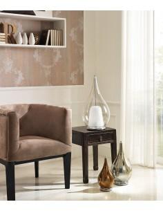 Lampada da tavolo Cangini&Tucci LU1300 con vetro di murano trasparente|G9|MADE IN ITALY|Coppolav.it: Lume da tavolo