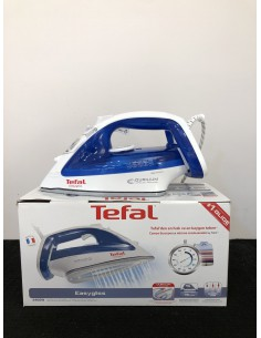 Ferro da stiro Tefal FV3960 2400W, Piastra Dirilium AirGlide, stiratura verticale, anti calcare, MADE IN FRANCE|Coppolav.it