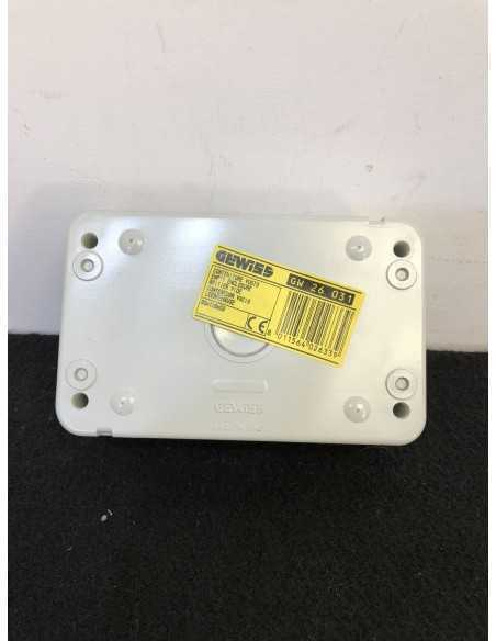 Gewiss GW26031 Contenitore a 4 posti MADE IN ITALY