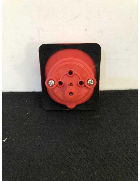 Gewiss GW62209 Presa industriale rossa 380-415V
