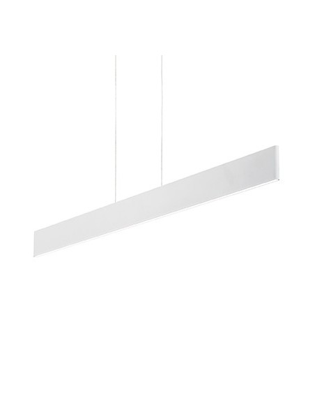 Sospensione Ideal Lux Desk SP1 con sistema LED integrato da 23W, luce calda, IP20, 2100 lumen|Coppolav.it: Ideal Lux