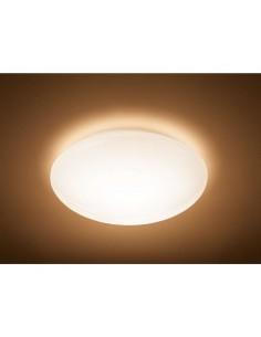 Plafoniera LED 36W Philips Suede, Luce calda 2700K, 3300 lumen, Diametro 50 cm, 5 anni di garanzia, Bianca: Coppolav.it