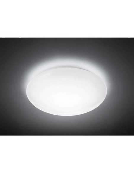 Plafoniera LED 36W Philips Suede, Luce naturale 4000K, 3300 lumen, Diametro 50 cm, 5 anni di garanzia, Bianca: Coppolav.it