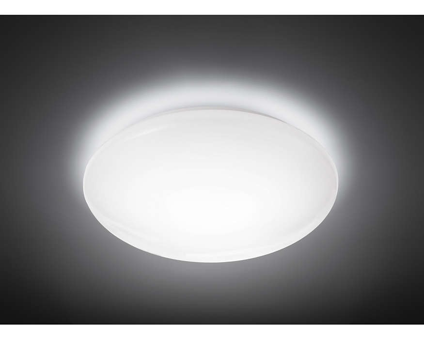 Plafoniera Led Philips : Plafoniera led w philips suede luce naturale k lumen