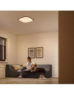 Plafoniera LED dimmerabile quadrata 18W Philips Cavanal, Luce naturale 4000K, 1600 Lumen, 30x30, Bianca