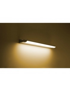 Applique LED orientabile 11W Philips Lamine, Luce calda 2700K, 790 Lumen, Alluminio grigio: Coppolav.it: Applique