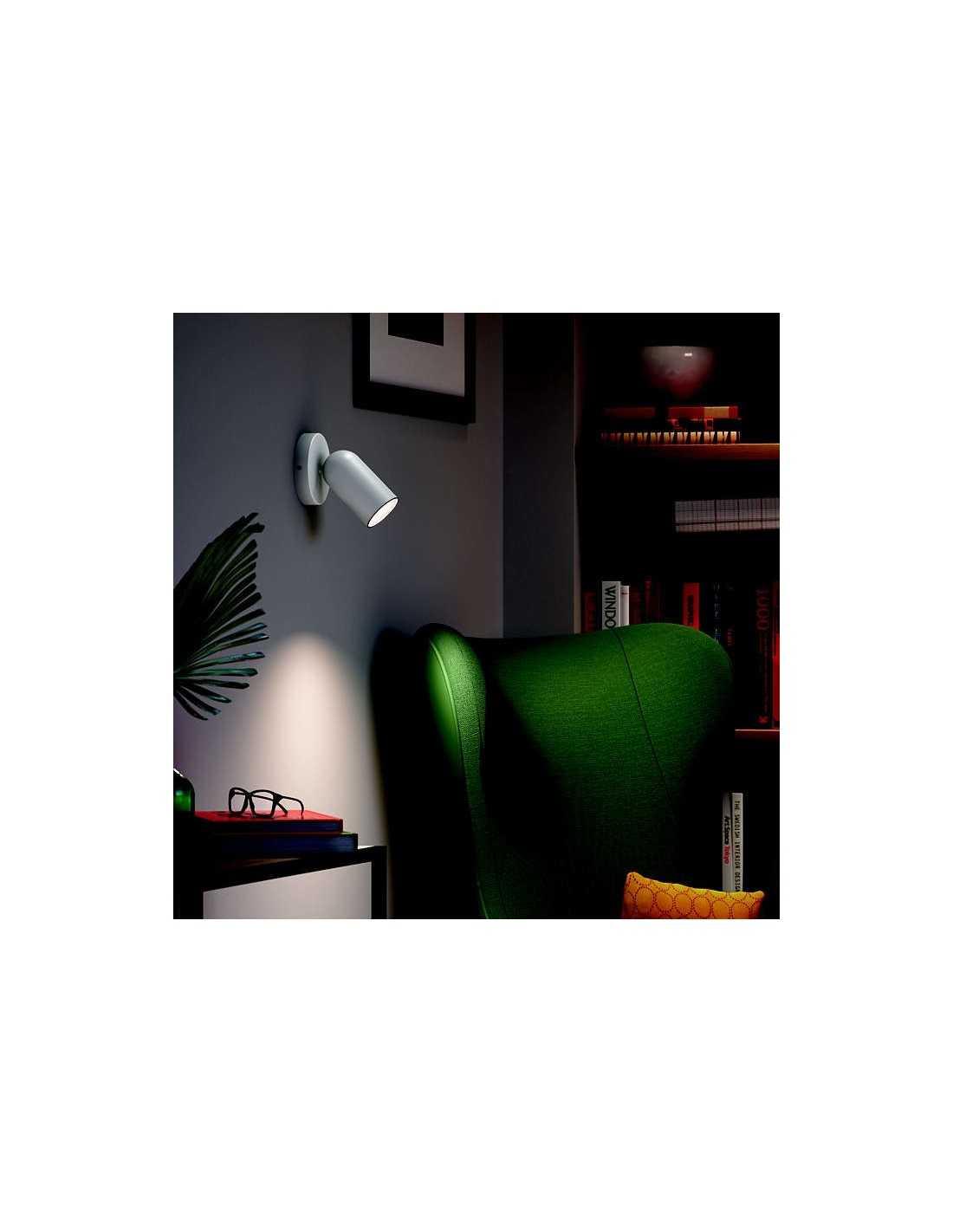 Faretti E Spot Da Soffitto faretto spot orientabile da soffitto e parete philips pongee