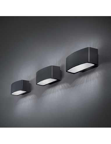 Applique da parete per esterno Bianco IP55, 1 Luce E27 Ideal Lux Andromeda  AP1 - Coppola Vincenzo SAS