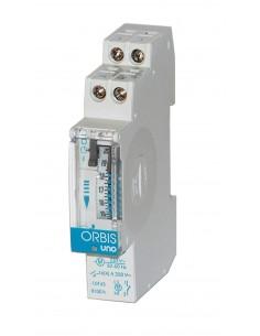 Interruttore orario analogico da quadro elettromeccanico Orbis UNO QRD OB400232