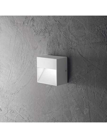 Applique per esterno con luce verso il basso Ideal Lux Down AP1, Bianco, 1 G9, alluminio pressofuso: Coppolav.it: Applique