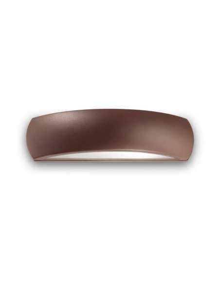 Applique a fascia antracite per esterno IP54 in alluminio pressofuso Ideal Lux Giove, 1 E27