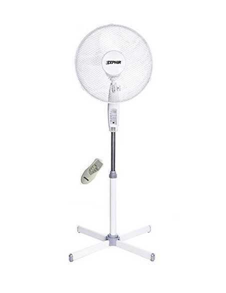 Ventilatore a piantana con telecomando e timer Zephir PBA42TLC|3 velocità|Oscillante|Coppolav.it: Ventilazione