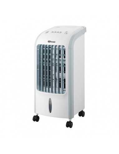 Raffrescatore d'aria con serbatoio da 4 litri e 3 velocità Termozeta TZWZ08, 75W, 4 accessori per la ghiacciaia: Coppolav.it