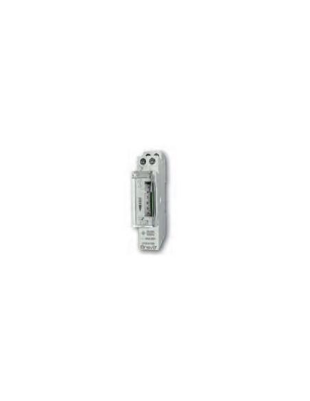 Interruttore orario analogico giornaliero per quadro DIN Bravo 93003222, 1 canale, 100 ore di riserva di carica