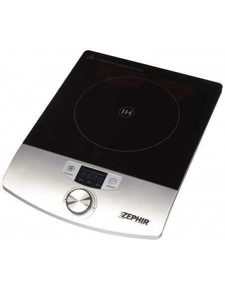 Fornello Piastra ad induzione da 2000W con display LED Zephir ZHC14, timer, fino a 240 gradi