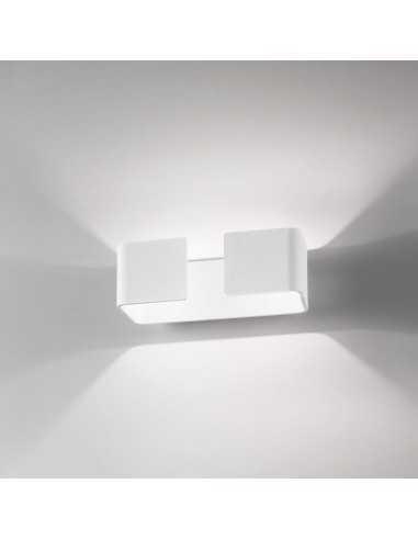 Applique per esterno bianco biemissione Isyluce 920A