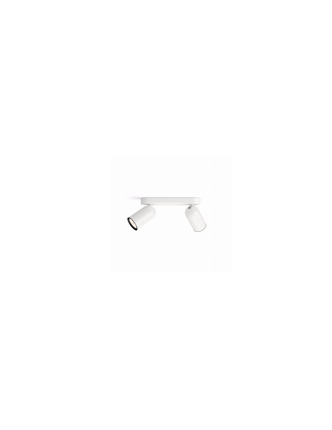 Faretti E Spot Da Soffitto doppio faretto spot orientabile bianco da soffitto e parete philips pongee,  gu10: coppolav.it: faretti da parete