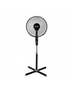 Ventilatore a piantana con 3 pale Termozeta TZWZ01|3 velocità|Alto 120cm|50W|Nero|Coppolav.it: Ventilazione