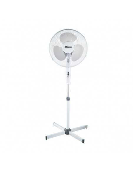 Ventilatore a piantana 3 velocità, Termozeta TZWZ01, oscillante, 3 pale da 40cm, alto 120cm, 45W|Coppolav.it: Ventilazione