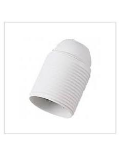 Portalampada E27 bianco in resina fenolica termoindurente con filettatura esterna FAEG FG24035: Coppolav.it: Portalampada E27