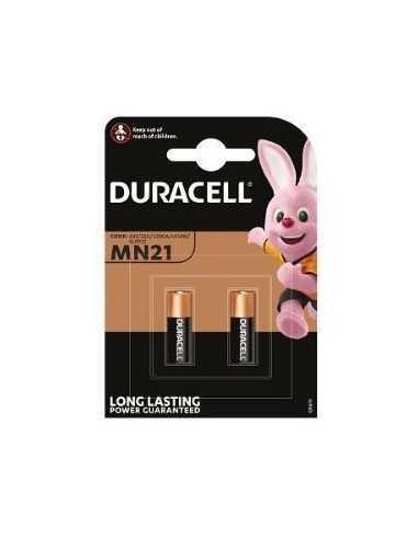 Blister di 2 batterie Duracell MN21 a lunga durata 12V
