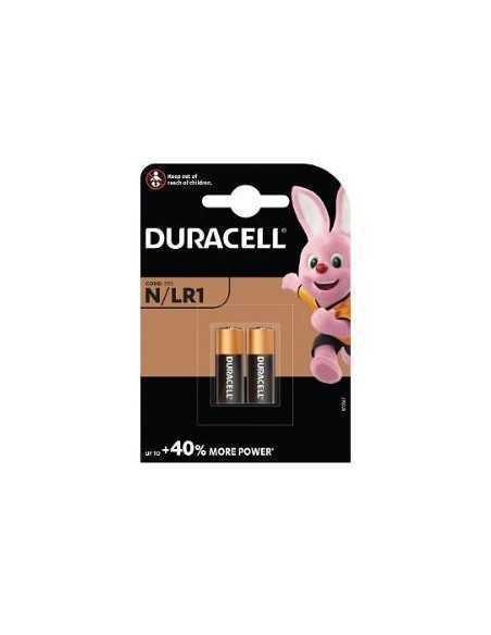 Blister di 2 batterie Duracell LR1 a lunga durata 1,5V