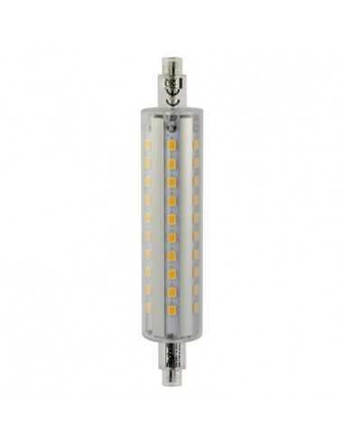 Lampada LED R7s 12W 118 mm Luce naturale Beghelli 56115, 4000°K, 1600 Lumen, Resa 100W, Luce a 360°, A+, Sostituisce le alogene