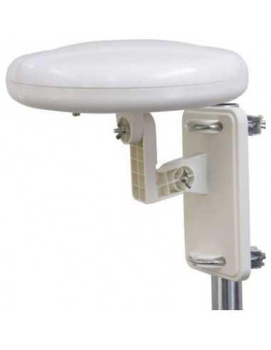 Antenna esterna digitale amplificata omnidirezionale 360° Melchioni 149898032, Supporto per parete o palo, Compatibile per HDTV
