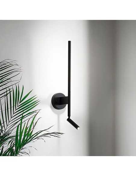 Applique spot a parete Ideal Lux Alfa AP1 Bianco