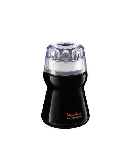 Macina caffe nero utile per spezie, frutta sbucciata e caffè Moulinex AR110830, Recipiente da 50g, 180W, Lama in acciaio Inox