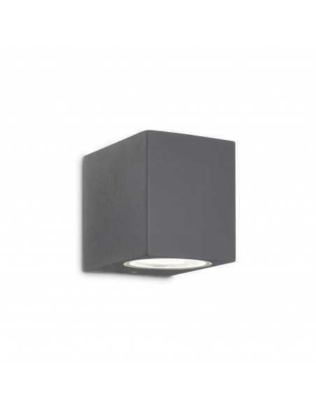 Applique da parete per esterno Antracite IP44, 1 Luce G9 Ideal Lux Up AP1, Struttura in alluminio: Coppolav.it: Luci per esterno