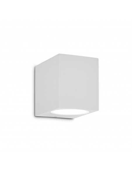 Applique da parete per esterno Bianco IP44, 1 Luce G9 Ideal Lux Up AP1, Struttura in alluminio: Coppolav.it: Luci per esterno