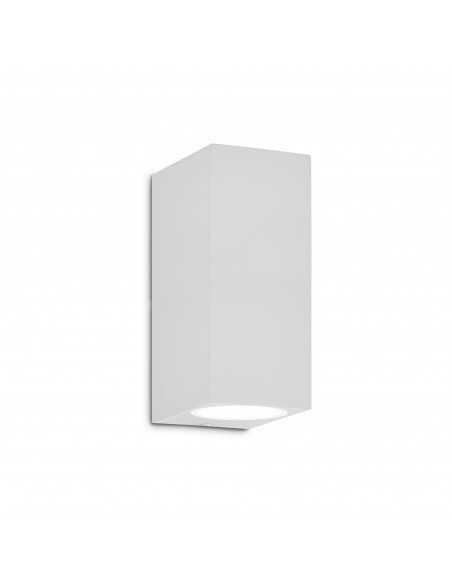 Applique da parete a 2 luci per esterno Bianco IP44, G9 Ideal Lux Up AP2, Struttura in alluminio: Coppolav.it: Luce per esterni