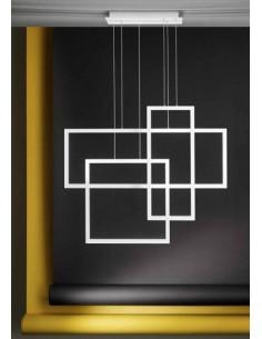 Lume con paralume plissettato e base cromata Ideal Lux Eternity TL1 Big, E27