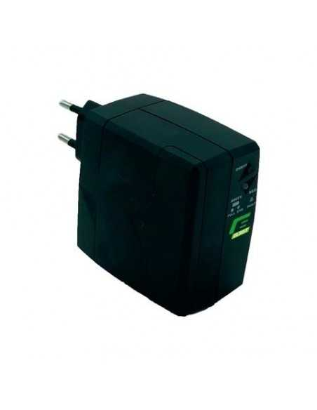 Gruppo di continuità con spina da 25W (2,1A) UPS Elsist ideale per modem, 3 ore di autonomia, Uscita DC, Ingresso AC, 2600 mAh