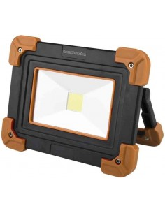 Luce da testa LED comoda e luminosa in plastica ABS CFG EL031, Resistente agli schizzi, Batterie AAA Incluse, Autonomia 11 ore