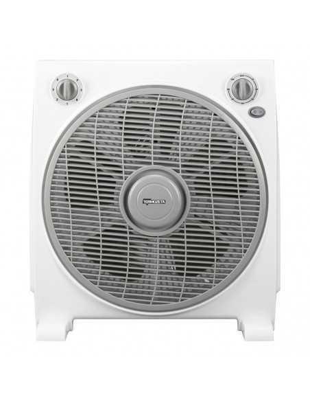 Ventilatore quadrato box fan 3 velocità con timer Termozeta TZWZ07, 45W|Coppolav.it: Ventilazione