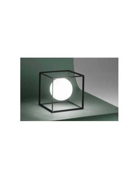 Lume con paralume plissettato e base cromata Ideal Lux Eternity TL1 Big, E27