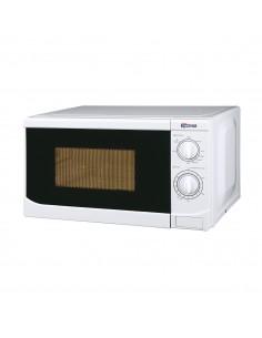 Forno a microonde e grill da 20 litri con 3 modalità di cottura e timer fino a 35 minuti Termozeta 75318, Piatto rotante 25,5 cm