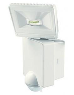 Faro LED orientabile per esterni Bianco con sensore di movimento e crepuscolare Theben Luxa 102-140, 8W, Luce calda, IP44