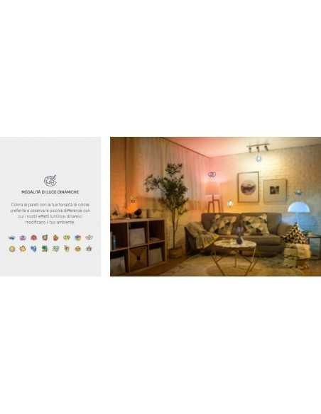 Philips Hue White and Color Ambiance Lampadina GU10, 6,5W, 16 milioni di colori