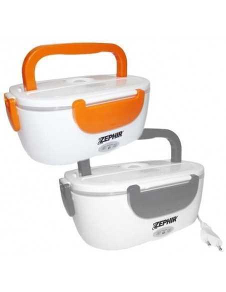 Scaldavivande termos elettrico 1 litro lavabile Zephir ZHC66, Scomparti separati, Vano porta posate, Maniglia e coperchio, 40W