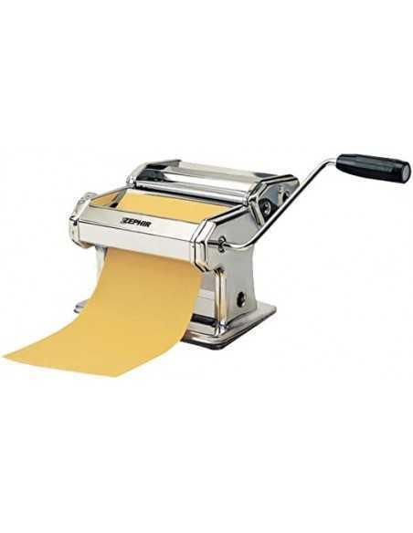 Macchina per la pasta professionale con corpo in acciaio Zephir ZHC4000|7 impostazioni di spessore|Coppolav,it: Linea cucina