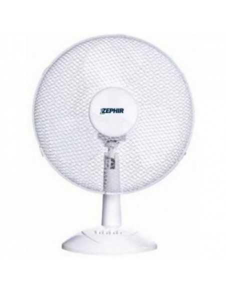 Zephir PBI30 Ventilatore da tavola, pale da 40cm,3 velocità, Oscillante, 45W