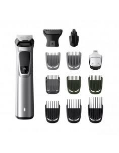 Rasoio Rifinitore Ricaricabile Wet&Dry per barba, capelli, peli corpo, naso con 13 accessori Philips Multigroom MG7715/15